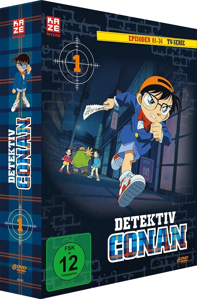Detektiv Conan DVD-Box 1