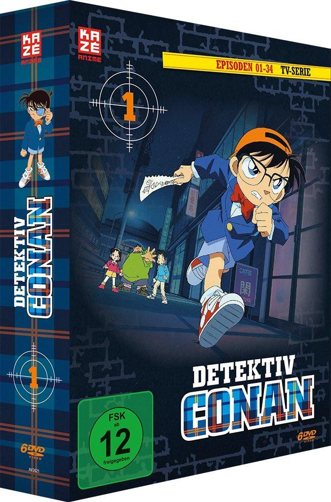 Detektiv Conan DVD-Box 1