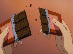 Ran Hat Für Shinichi Eine Rot Rosa Verpackung Gewählt